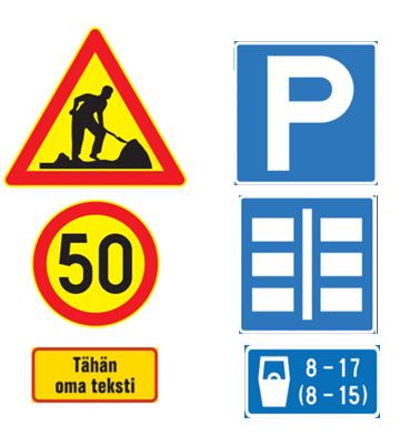 Liikennemerkkien vuokraus