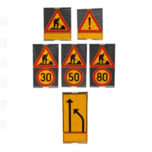 Kankaisten liikennemerkkien vuokraus