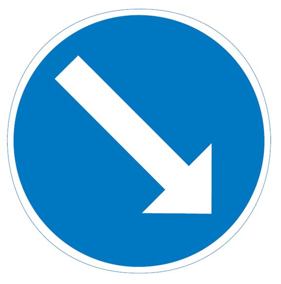 Liikenteenjakaja magneetilla