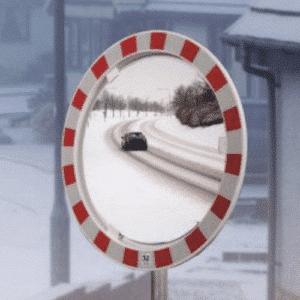 Huurtumaton sekä jäätymätön liikennepeili