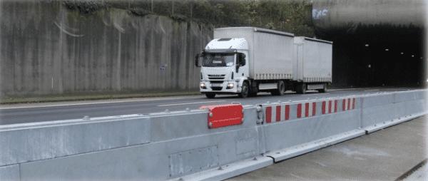 DUO-GATE turvakaideportti moottoritiellä