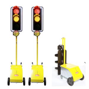Liikennevalot sopivat liikenteen ohjauksen lisäksi myös erilaisille työmaille moniin käyttötarkoituksiin.