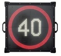 Nopeusrajoitusnäyttö LED