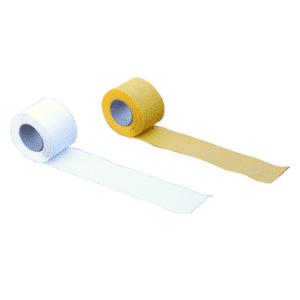 Premark-tiemerkintärulla, valkoinen ja keltainen viiva