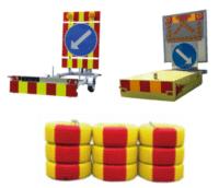 Törmäystraileri, törmäystyyny ja rengasvalli