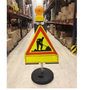 Tielle asetettava varoituslaite