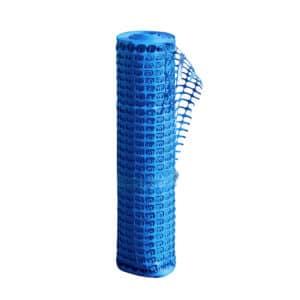 Sininen työmaan verkkosuoja-aita 50 m